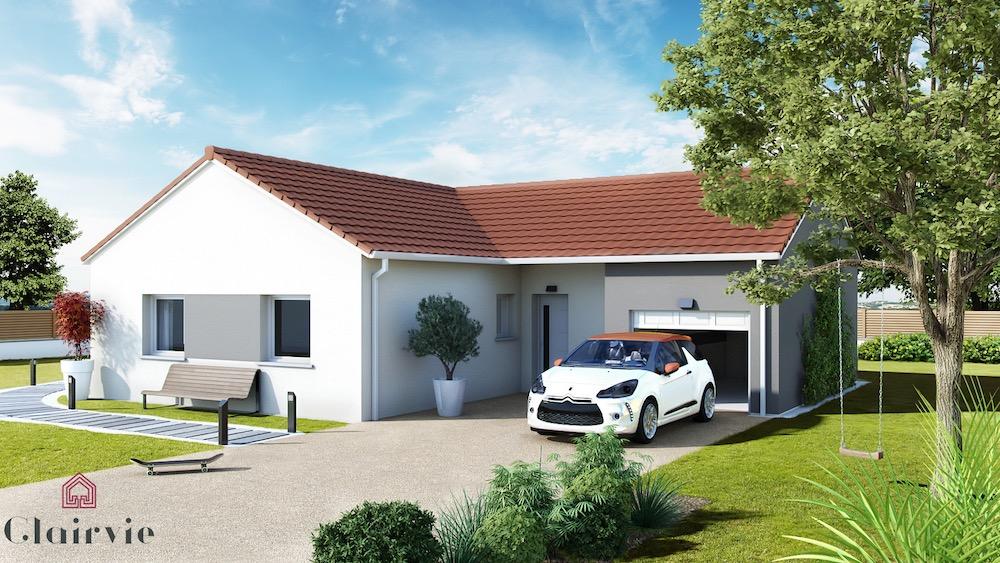 Design l maison petit prix avec plan en l for Modele maison prix