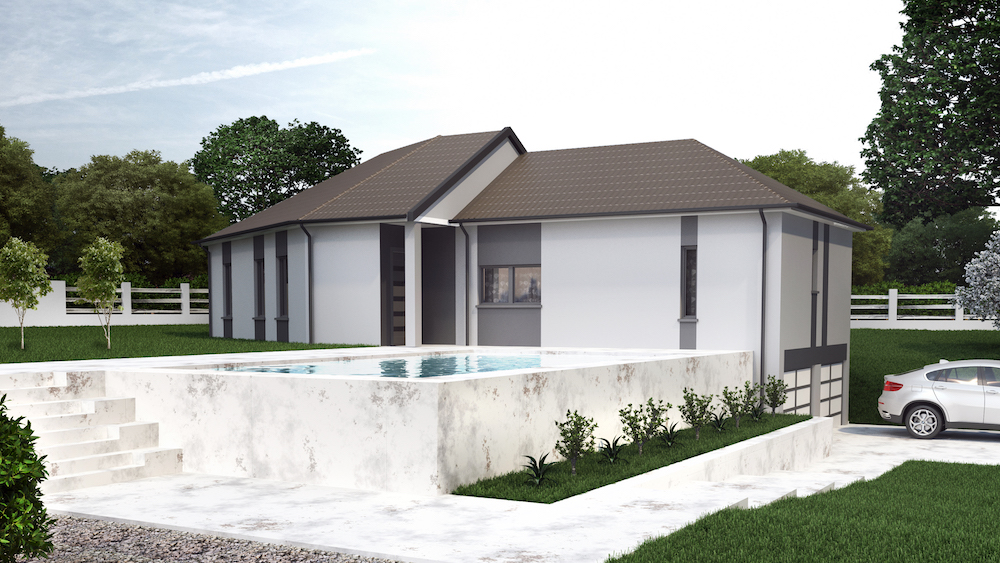 humagny maison moderne d 39 architecte. Black Bedroom Furniture Sets. Home Design Ideas