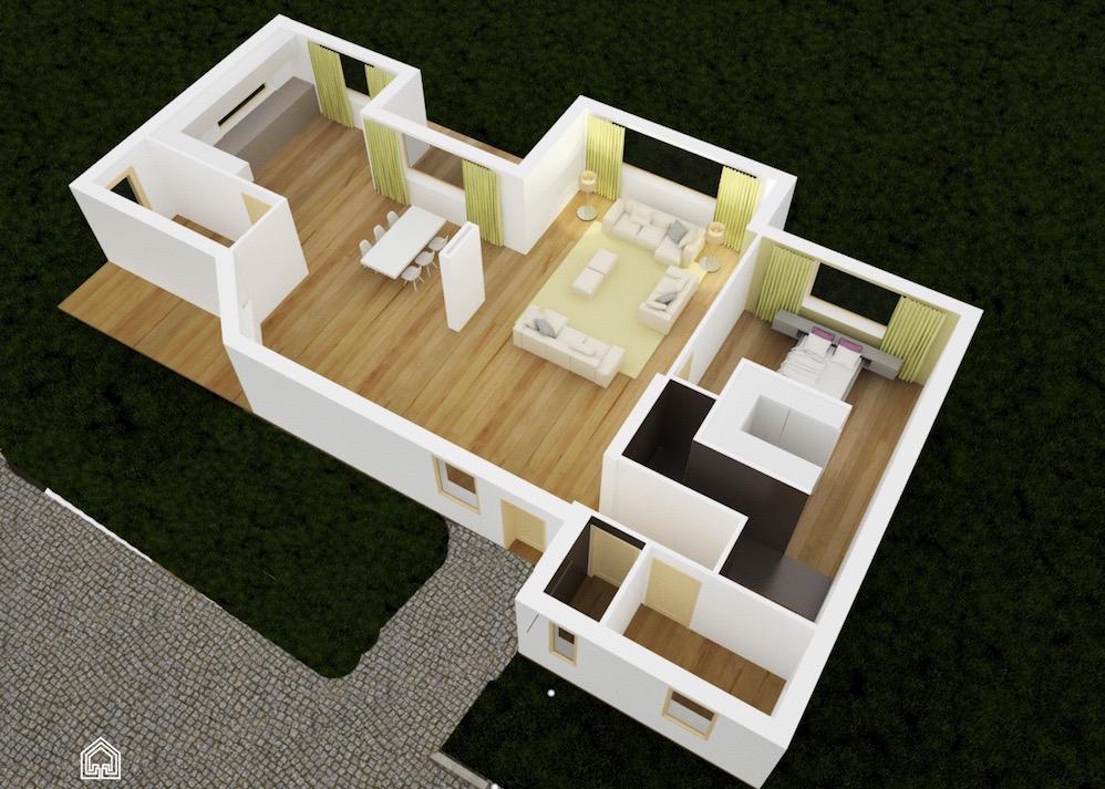 interieur 3D maison